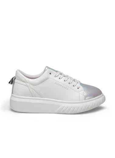 Lumberjack Kadın Beyaz Sneakers 100486470  Beyaz